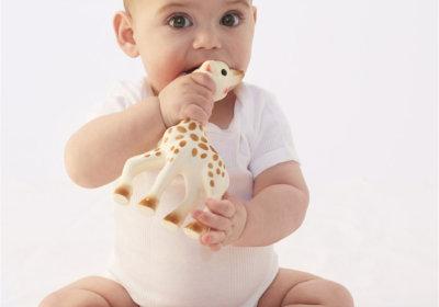 Sophie de Giraf is een super lief en veilig bijtspeeltje voor iedere baby.