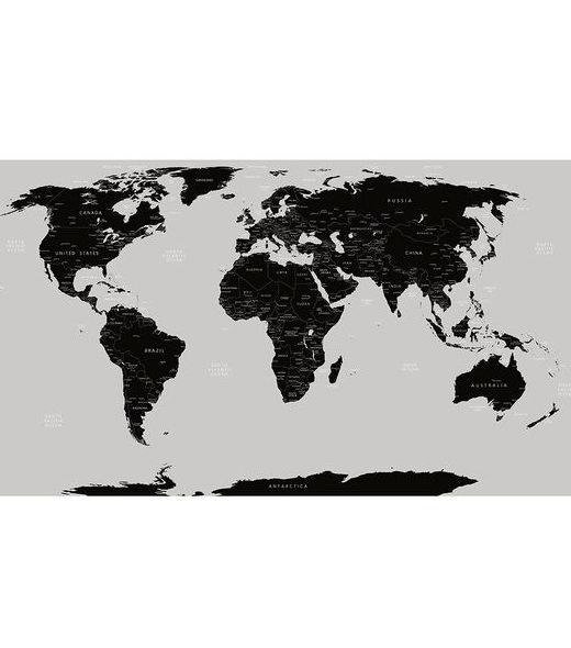 wereldposter om op te krijten als cadeau